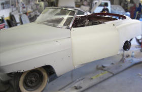 Old Car Restoration - Front
