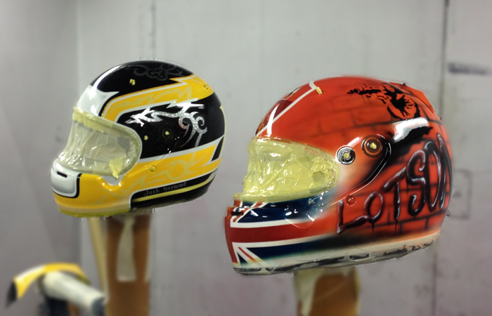 Custom Design Helmets