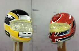 Custom Helmet Paintwork